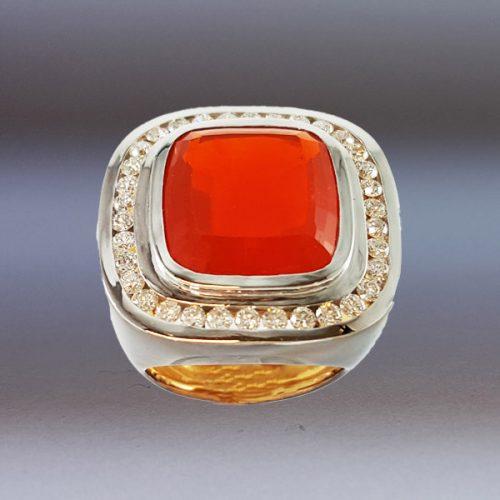 anello opale di fuoco