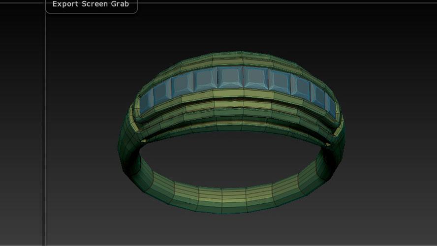 Progettazione dell'anello